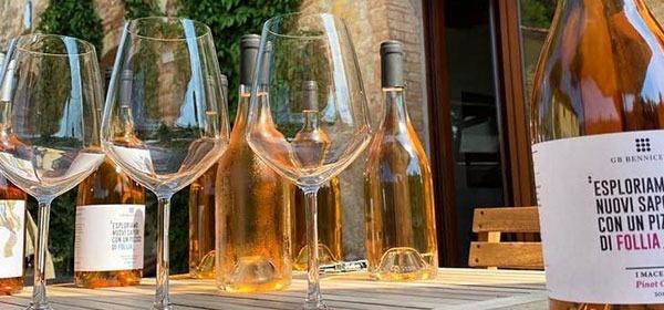 Pinot Grigio Macerato Bennicelli, un vino da cento tramonti